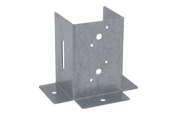 Pletina cuadrada b.p.vertical 70 x 70 mm