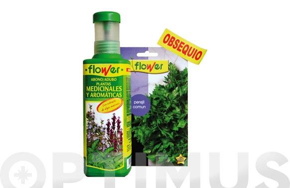 Abono liquido aromaticas +semillas planta aromaticas