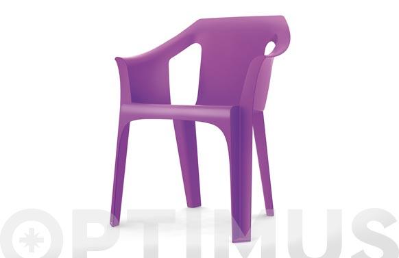 Sillon resina apilable cool sscoc-violeta