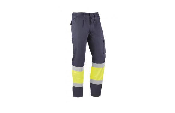 Pantalon alta visibilidad bicolor kreta t s