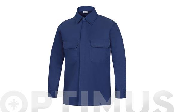 Camisa manga larga ignifuga + antiestatica l3000 t 48 azul marino