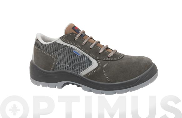 Zapato seguridad cauro oxigeno gris s1p t 38