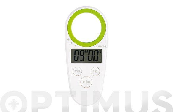 Minutero/dosificador spaguetti f77908-verde