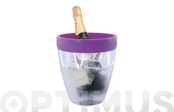Champanera acrilica fluor art3 lila