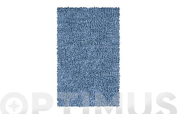 Alfombra baño algodon vintage indigo 60 x 60 cm