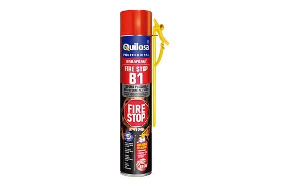 Espuma poliuretano orbafoam fire stop canula 750 ml