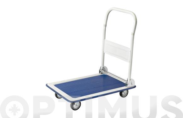 Carro plataforma acero plegable 150 kg