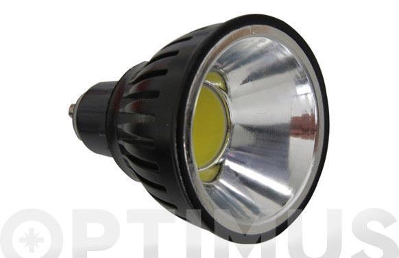 Led dicroica alum cob 90 gu10 5w luz blanca (6000k)