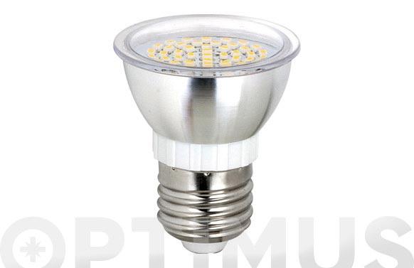 Led dicroica smd alum 120 e27 3,5w luz blanca (6000k)