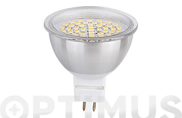 Led dicroica smd alum 120 mr16 3,5w luz blanca (6000k)