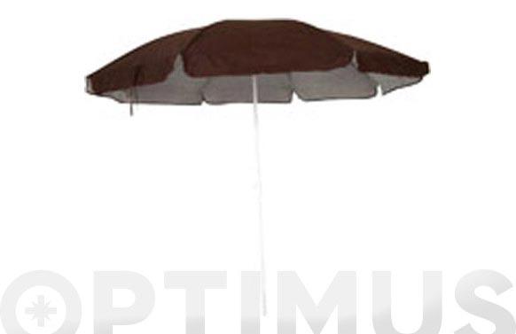 Parasol playa d.200 795-marron