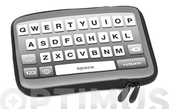 Funda tablet retro type 10 negro