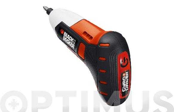Atornillador bateria gyro 3.6 v 1.3 ah