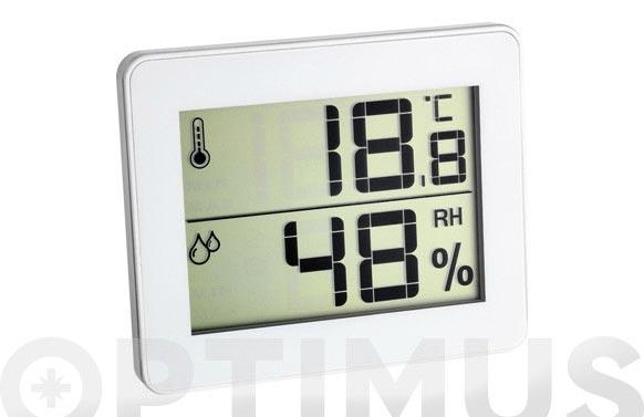 Termometro higrometro digital 100x82x11mm