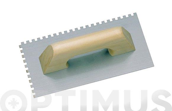 Llana dentada drako 270 x 130 mm