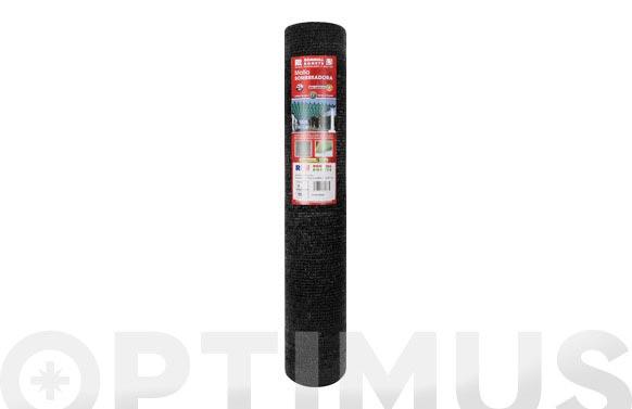 Malla sombreadora pe/rf 70. 4 x 5 m negro