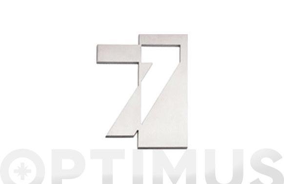 Numero inox 125 mm 7