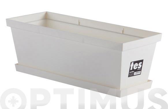 Plato tes 46x16,5x 2,5 - blanco para 50cm (8550)