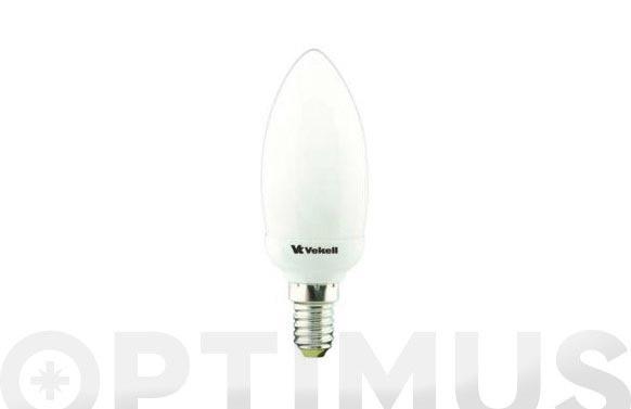 Lampara bajo consumo micro vela 11w e-14 827