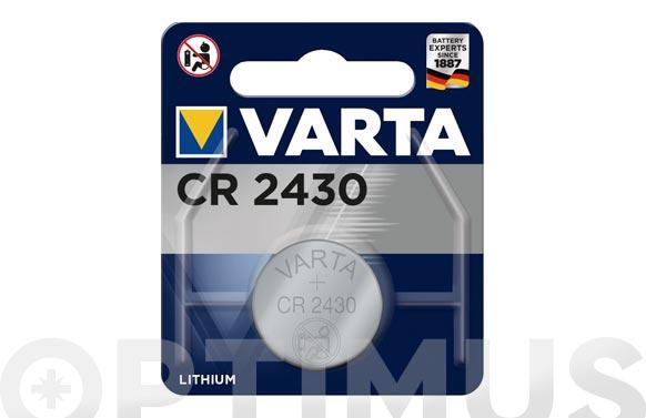 Pila litio boton blx2 cr2430 3v