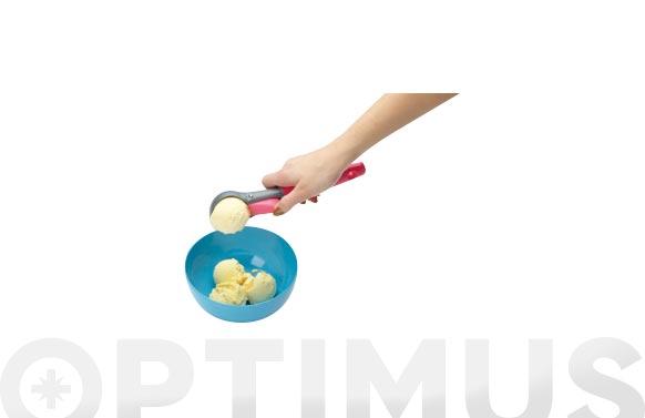 Cuchara helado con vaciador en display