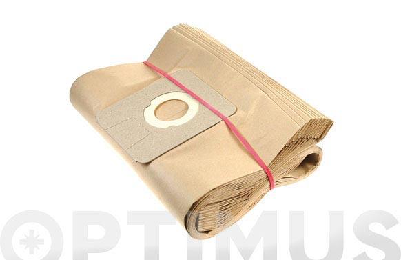 Bolsa papel aspirador 10 uds 26/35/50 l drako / cifec