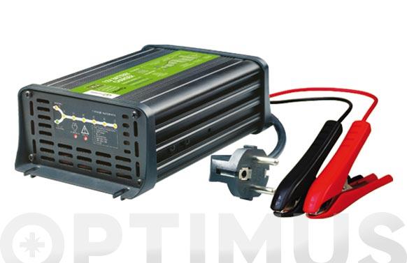 Cargador baterias plomo 12v 10a/70-200ah