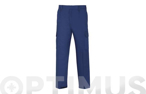 Pantalon algodon ignifugo antiestatico l3000 t 48 azul marino 200 grs