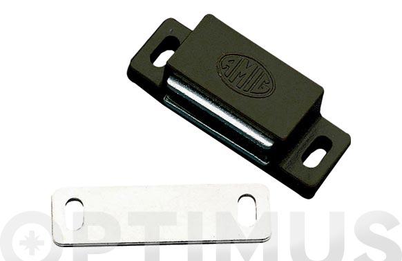 Cierre magnetico modelo 5 43x15 mm marron 2 uds