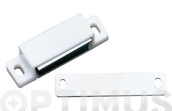 Cierre magnetico modelo 10 56x15mm blanco 2 uds