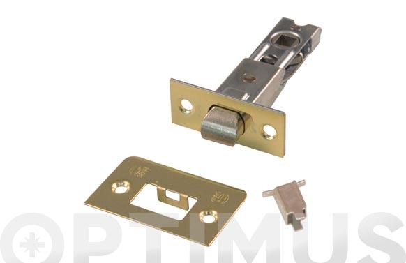 Picaporte tubular 7-60 mm latonado
