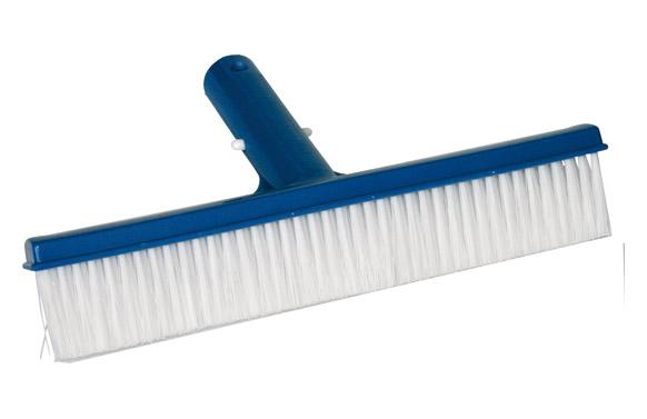 Cepillo piscina recto 20cm conexion clip
