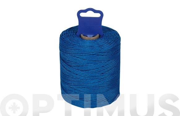 Hilo replanteo polipropileno trenzado ø 1,8 mm 50 mt azul