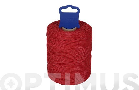 Hilo replanteo polipropileno trenzado ø 1,8 mm 100 mt rojo