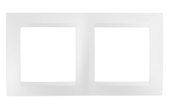 Marco 2 elementos blanco serie 15