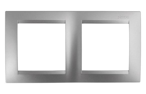 Marco 2 elementos aluminio serie 15