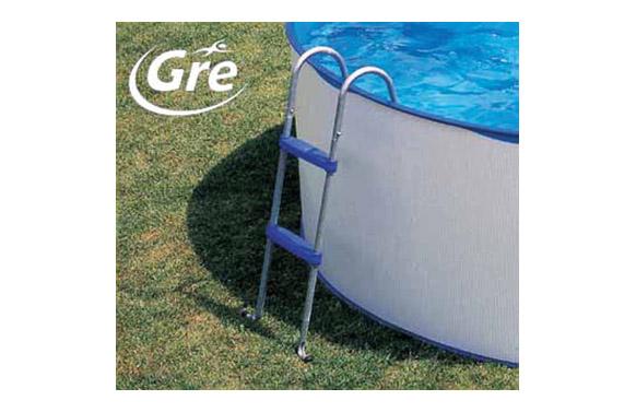 Escalera piscina tijera 2x2 peldaños