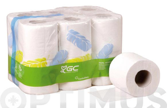 Papel higienico domestico 2 capas 18 m
