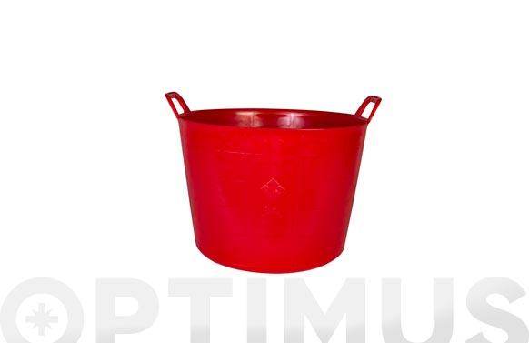 Capazo plastico rojo n. 3 40 l