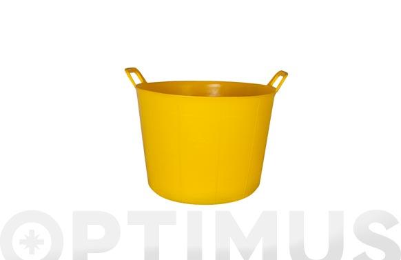 Capazo plastico amarillo n. 3 40 l