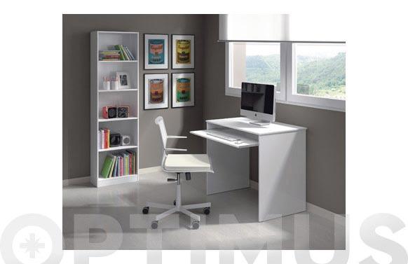 Mesa ordenador infantil blanco artik 79 x 90 x54 cm