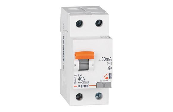 Interruptor diferencial bipolar 40a