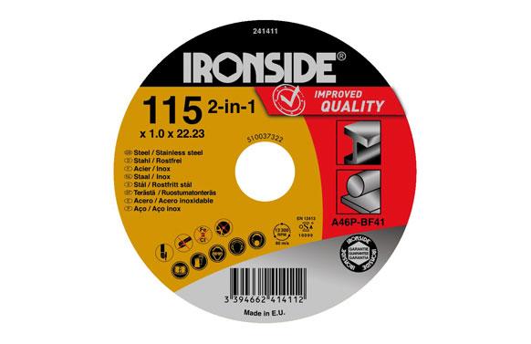 Disco corte acero/inox 115 x 1 x 22 mm