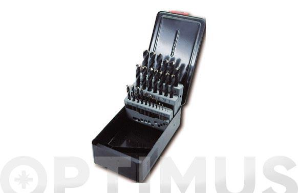 Broca para metal hss pro juego 25 piezas ø de 1 a 13 mm. de ½ en ½ mm.