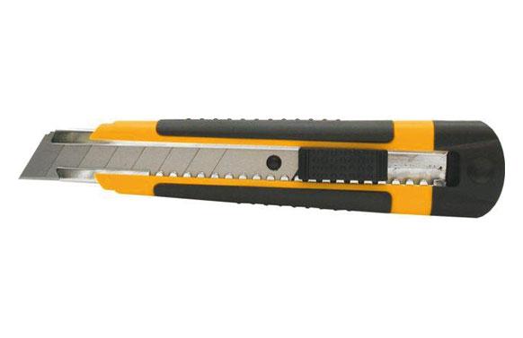 Cuter 18 mm. auto lock bicomponente plastico