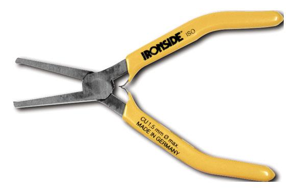 Alicate corte frontal p/ electronica y precision 130 mm mango recubierto de pvc