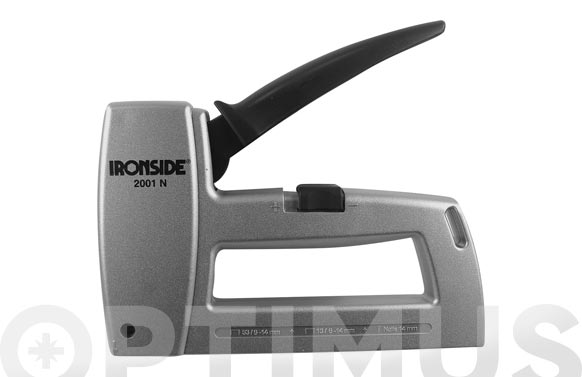 Grapadora / clavadora modelo 2002 n para grapas de 6 a 14 mm. y clavos de 15 mm.