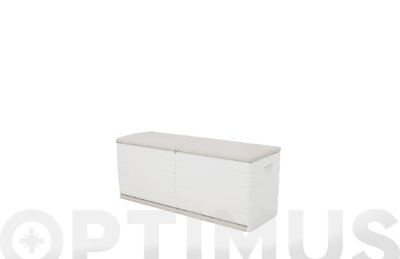 Baul resina beige 153 x61 x 53 cm