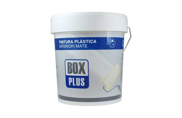 Pintura plastica blanca mate 20 kg interior