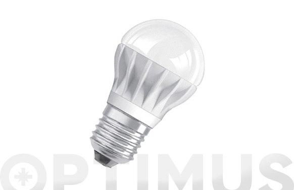 Bombilla led clas p25 esf reg parathom 5,4w e27 luz calida
